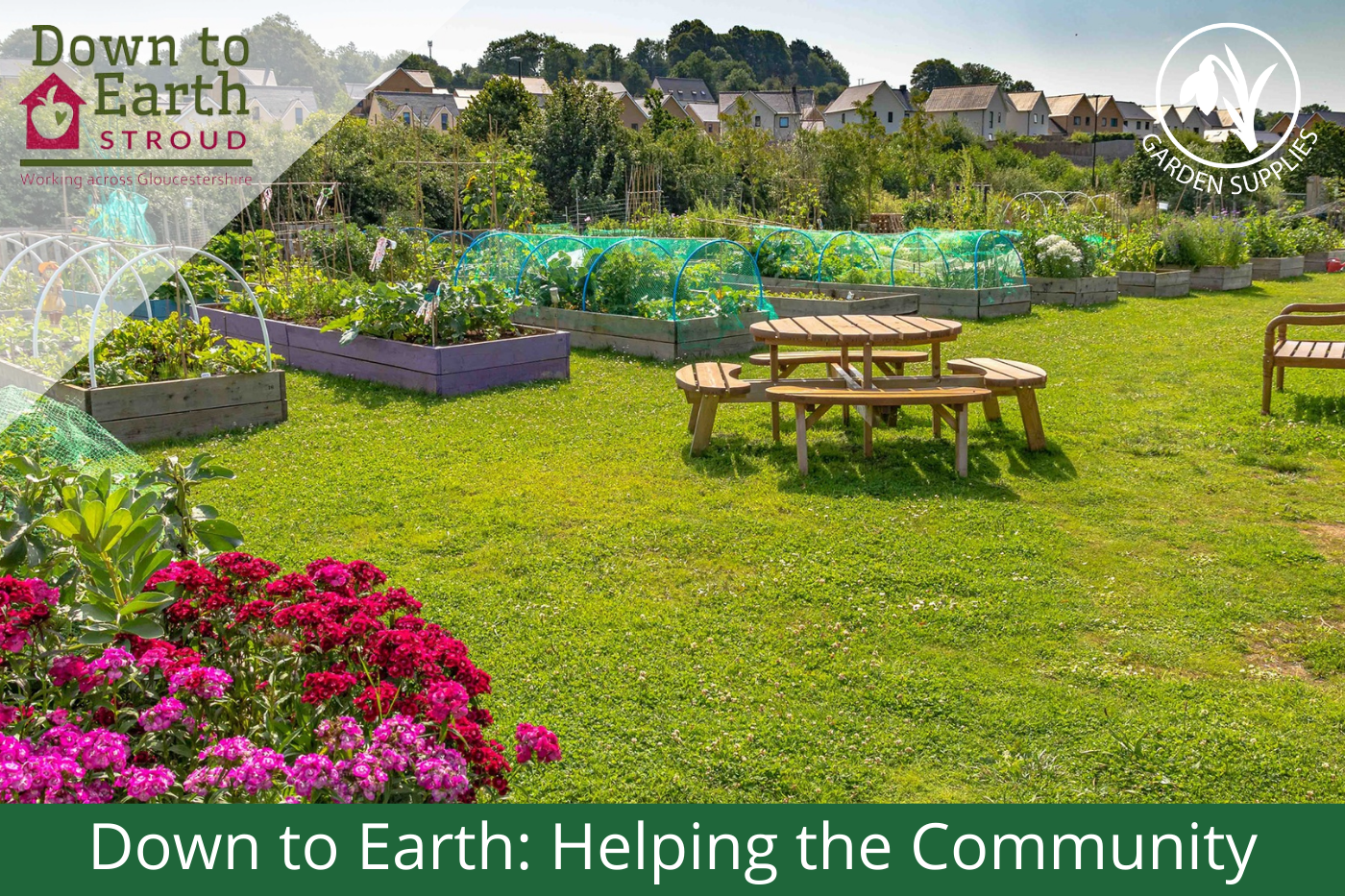 Down to Earth: Helping the Community